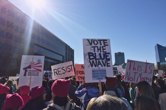 Women's March on Raleigh - January 2017
