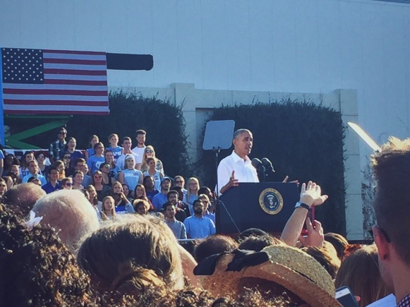 UNC YD Hosts President Obama - Fall 2016