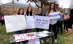 UNC Rally Against Gun Violence - February 2018