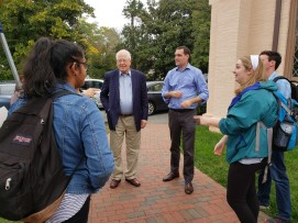 Early Voting with Congressman David Price - Fall 2018