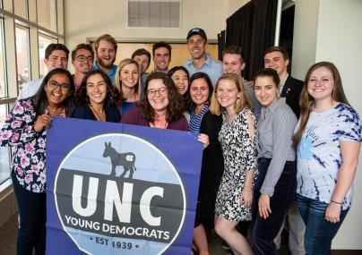 UNC YD hosts Beto O'Rourke - April 2019