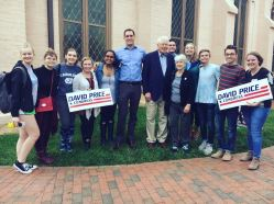 Early Voting with Representative Graig Meyer and Congressman David Price - Fall 2018