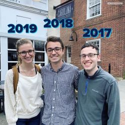 Past UNC YD Presidents Get Together - April 2019