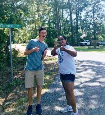 Canvassing in Robeson County - September 2019