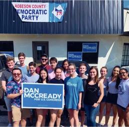 Canvassing for Dan McCready - September 2019