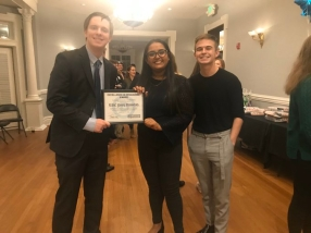 UNC YD Wins the Excellence in Organizing Award 2019 - December 2019