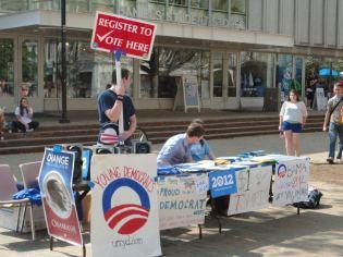 Pit-Sitting for Obama 2012