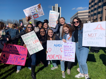 Women's March on Raleigh - January 2020