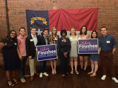 Senator Valerie Foushee Fundraiser at TOPO - April 2019