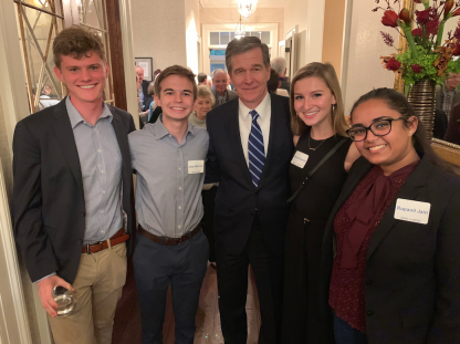UNC YD with Governor Cooper - November 2019